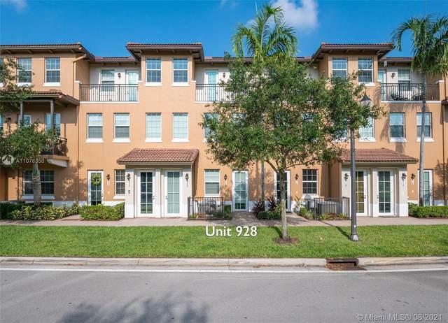 928 SW 147th Ave #2906, Pembroke Pines, FL 33027 (MLS #A11078350) :: Prestige Realty Group