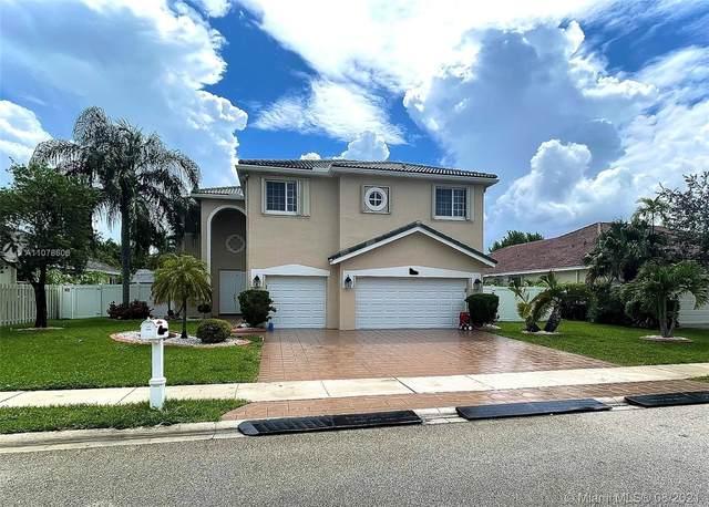 875 SW 159th Ln, Pembroke Pines, FL 33027 (MLS #A11078606) :: Prestige Realty Group