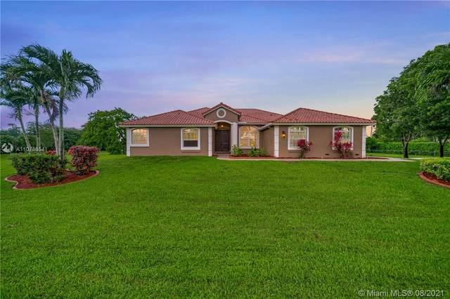 12851 Luray Rd, Southwest Ranches, FL 33330 (MLS #A11078654) :: Berkshire Hathaway HomeServices EWM Realty