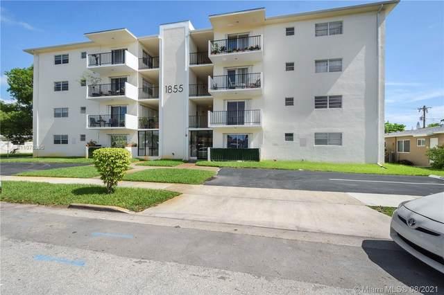 1855 Plunkett St #301, Hollywood, FL 33020 (MLS #A11078896) :: Berkshire Hathaway HomeServices EWM Realty