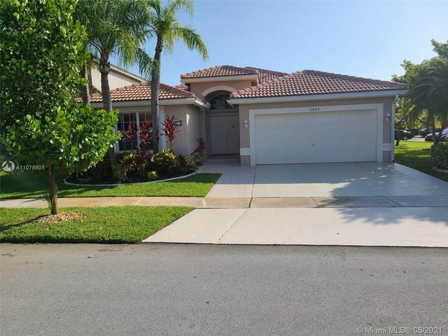 2865 SW 180th Ave, Miramar, FL 33029 (MLS #A11078901) :: Onepath Realty - The Luis Andrew Group