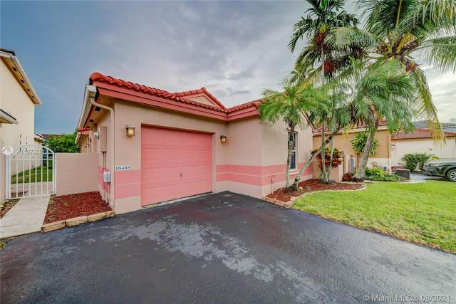 18489 NW 22nd St, Pembroke Pines, FL 33029 (MLS #A11079201) :: The Rose Harris Group