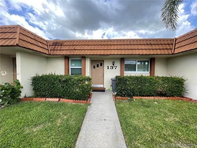 5780 W Fernley Dr W #137, West Palm Beach, FL 33415 (MLS #A11079287) :: Prestige Realty Group