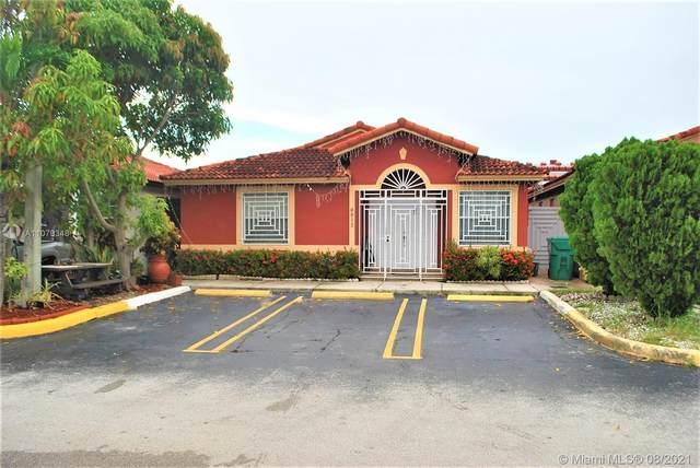 8913 NW 120th Ter #34, Hialeah Gardens, FL 33018 (MLS #A11079348) :: Prestige Realty Group