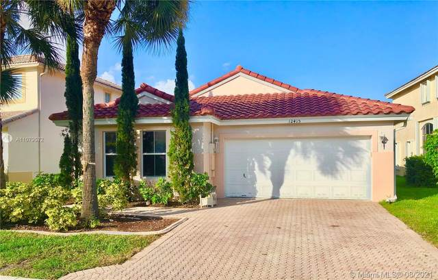 12415 NW 56th Ct, Coral Springs, FL 33076 (MLS #A11079572) :: The Rose Harris Group