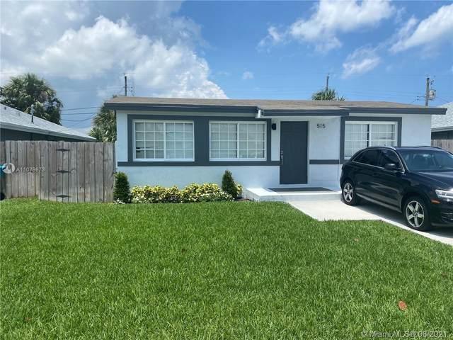 515 NW 11th Ave, Boynton Beach, FL 33435 (MLS #A11079673) :: The Jack Coden Group