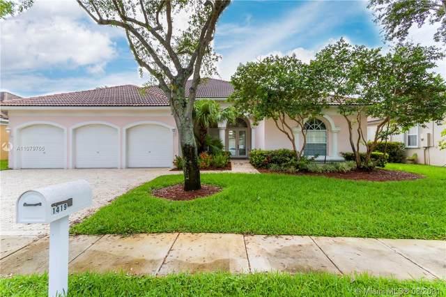 1419 SW 159th Ter, Pembroke Pines, FL 33027 (MLS #A11079766) :: Berkshire Hathaway HomeServices EWM Realty