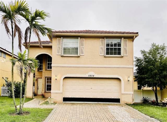 5824 N Sable Cir, Margate, FL 33063 (MLS #A11080084) :: Berkshire Hathaway HomeServices EWM Realty