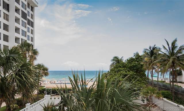 3505 S Ocean Dr #221, Hollywood, FL 33019 (MLS #A11080592) :: CENTURY 21 World Connection