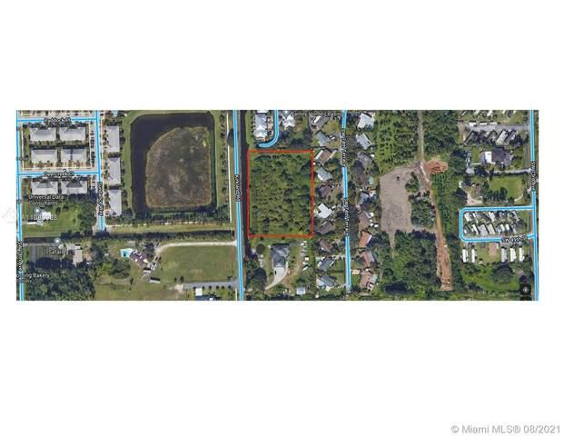 76 Sw Ave, Davie, FL 33328 (MLS #A11080988) :: Green Realty Properties