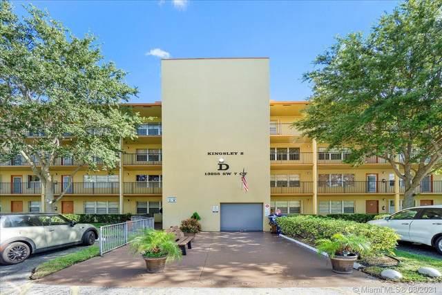 13255 SW 7th Ct D318, Pembroke Pines, FL 33027 (MLS #A11081521) :: The Rose Harris Group