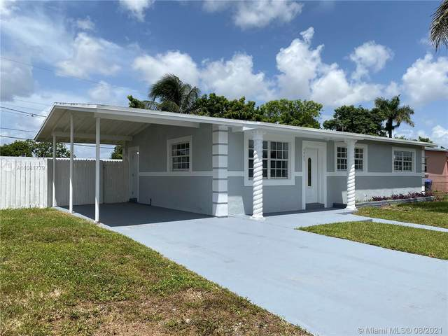 4045 NW 191st Ter, Miami Gardens, FL 33055 (MLS #A11081779) :: All Florida Home Team