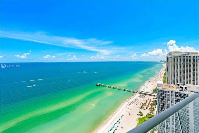 16901 Collins Ave #3505, Sunny Isles Beach, FL 33160 (MLS #A11081996) :: GK Realty Group LLC