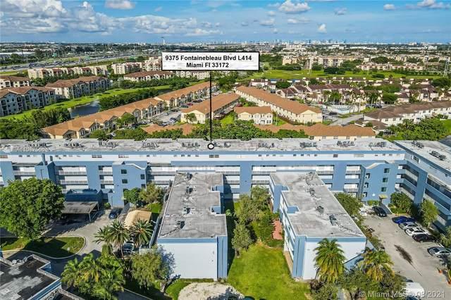 9375 Fontainebleau Blvd L414, Miami, FL 33172 (MLS #A11082566) :: CENTURY 21 World Connection
