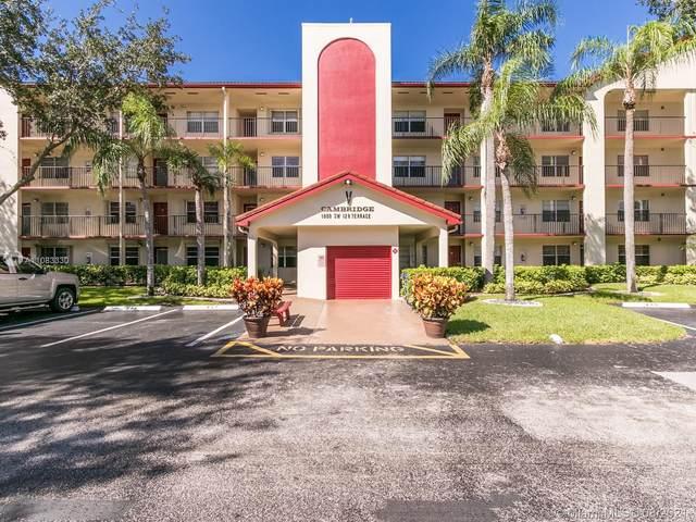 1000 SW 128th Ter 405V, Pembroke Pines, FL 33027 (MLS #A11083330) :: The MPH Team