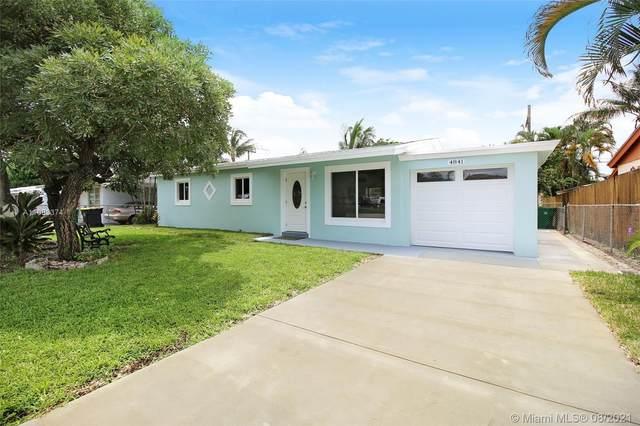 4841 SW 43rd Ter, Dania Beach, FL 33314 (MLS #A11083374) :: Equity Realty