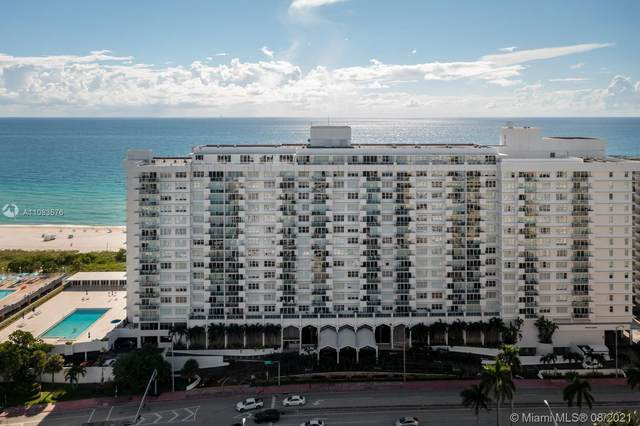 5601 Collins Ave #1521, Miami Beach, FL 33140 (MLS #A11083576) :: Green Realty Properties