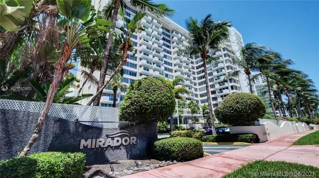 1200 West Ave #1210, Miami Beach, FL 33139 (MLS #A11083903) :: The MPH Team