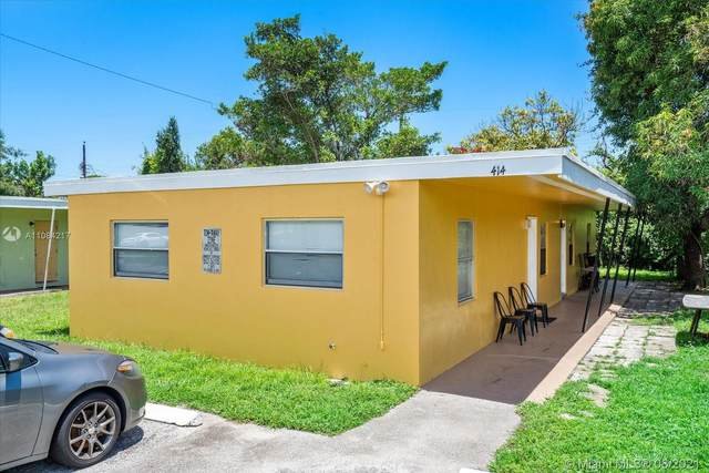 414 NW 15th Way, Fort Lauderdale, FL 33311 (MLS #A11084217) :: Berkshire Hathaway HomeServices EWM Realty