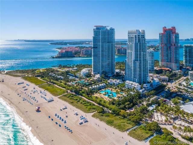 50 S Pointe Dr #1507, Miami Beach, FL 33139 (MLS #A11084615) :: Berkshire Hathaway HomeServices EWM Realty