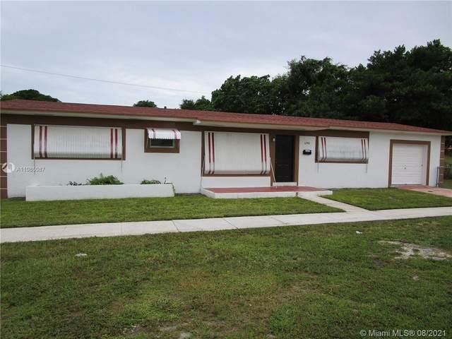 1298 NE 155th St, North Miami Beach, FL 33162 (MLS #A11085087) :: Prestige Realty Group