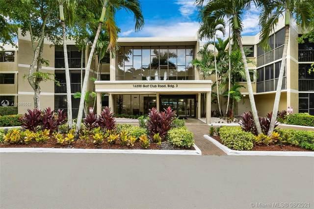 16200 Golf Club Rd #111, Weston, FL 33326 (MLS #A11085552) :: Green Realty Properties
