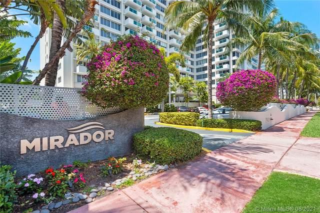 1200 West Ave #1112, Miami Beach, FL 33139 (MLS #A11085722) :: The MPH Team