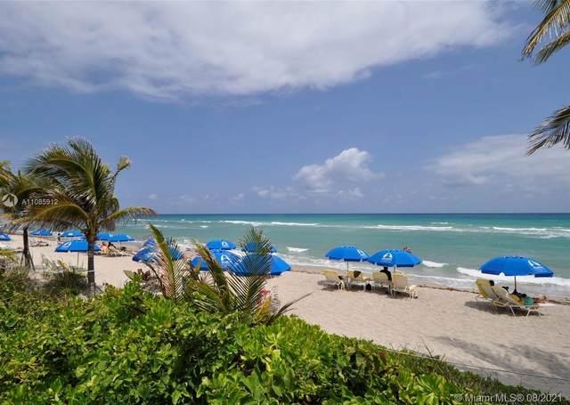 2030 S Ocean Dr #1104, Hallandale Beach, FL 33009 (MLS #A11085912) :: GK Realty Group LLC