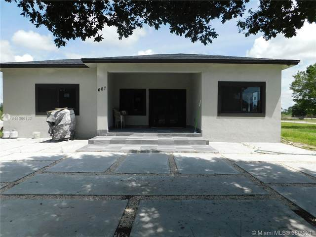 687 Hunting Club Ave, Clewiston, FL 33440 (MLS #A11086132) :: The Pearl Realty Group