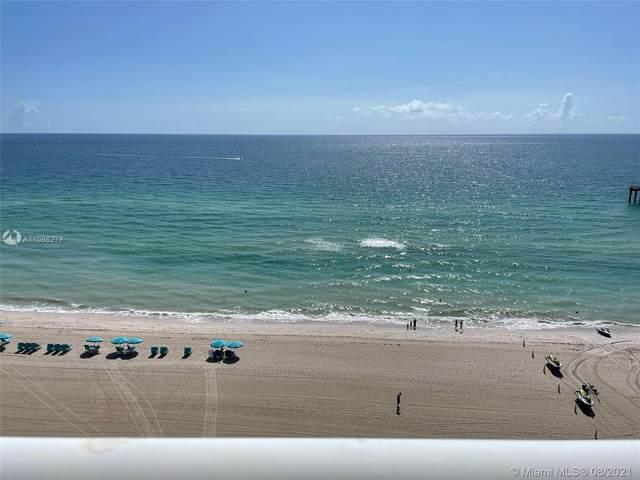 16711 Collins Ave #1107, Sunny Isles Beach, FL 33160 (MLS #A11086278) :: GK Realty Group LLC
