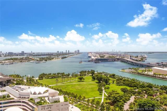 1100 Biscayne Blvd #2603, Miami, FL 33132 (MLS #A11086593) :: GK Realty Group LLC