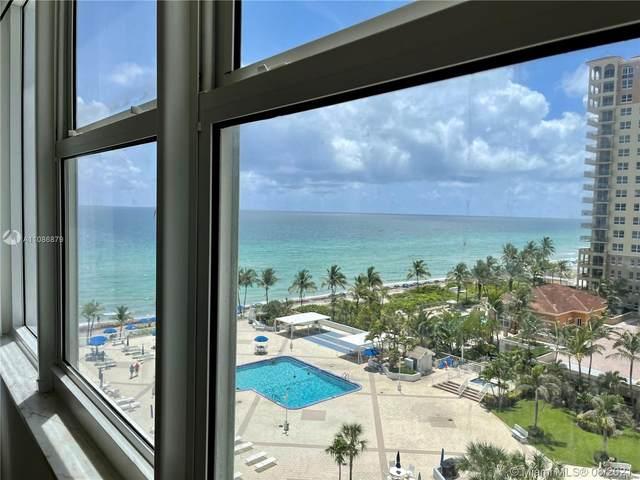 2030 S Ocean Dr #719, Hallandale Beach, FL 33009 (MLS #A11086879) :: GK Realty Group LLC
