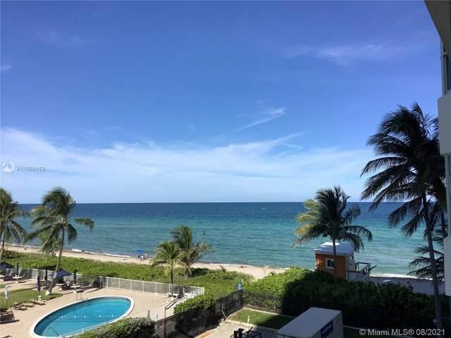 1950 S Ocean Dr 3M, Hallandale Beach, FL 33009 (MLS #A11088159) :: GK Realty Group LLC