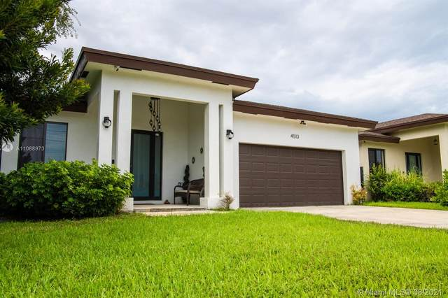 4513 SW 19th St, West Park, FL 33023 (MLS #A11088973) :: Re/Max PowerPro Realty
