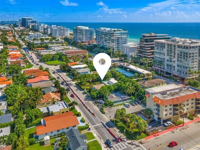 8927 Harding Ave, Surfside, FL 33154 (MLS #A11089098) :: Green Realty Properties
