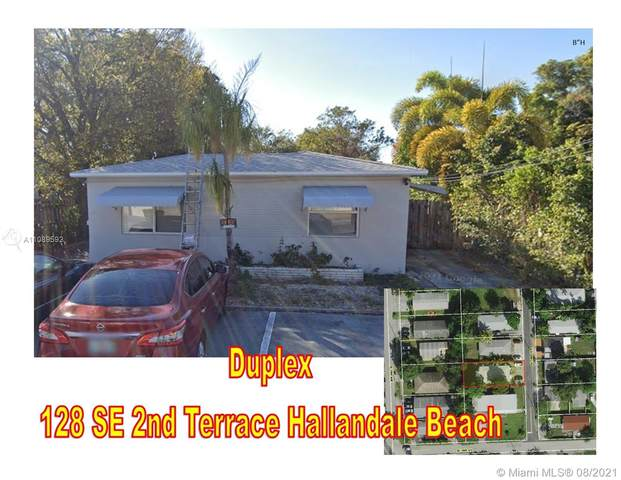 128 SE 2nd Ter, Hallandale Beach, FL 33009 (MLS #A11089592) :: Green Realty Properties