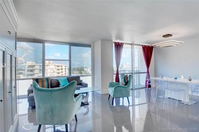 900 Bay Dr #1011, Miami Beach, FL 33141 (MLS #A11089817) :: Douglas Elliman