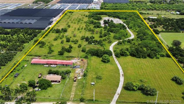 25251 SW 207 Ave, Homestead, FL 33031 (MLS #A11090111) :: Jo-Ann Forster Team