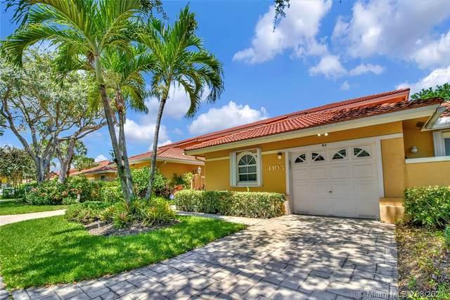 4103 Carriage Dr H3, Pompano Beach, FL 33069 (MLS #A11090636) :: Berkshire Hathaway HomeServices EWM Realty
