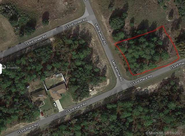 0000 Sw 54th Ave Rd, Ocala, FL 34473 (MLS #A11090924) :: Castelli Real Estate Services