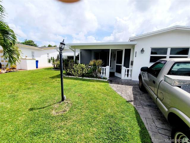 4950 NW 42nd St, Lauderdale Lakes, FL 33319 (MLS #A11091012) :: The Rose Harris Group