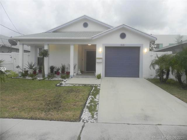 513 NW 6th St, Hallandale Beach, FL 33009 (MLS #A11091135) :: Castelli Real Estate Services