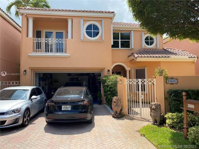 20800 NE 37th Avenue, Aventura, FL 33180 (MLS #A11091672) :: The Pearl Realty Group