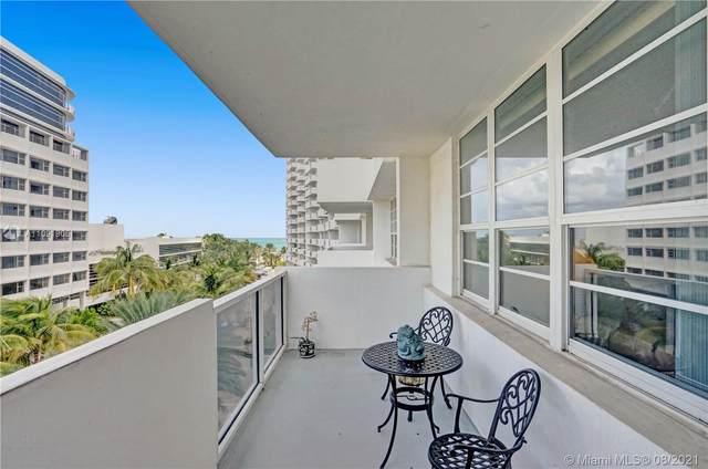 100 Lincoln Rd #510, Miami Beach, FL 33139 (MLS #A11091906) :: Berkshire Hathaway HomeServices EWM Realty