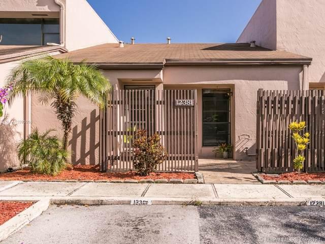 12381 NW 12th Ct #0, Pembroke Pines, FL 33026 (MLS #A11093004) :: Douglas Elliman