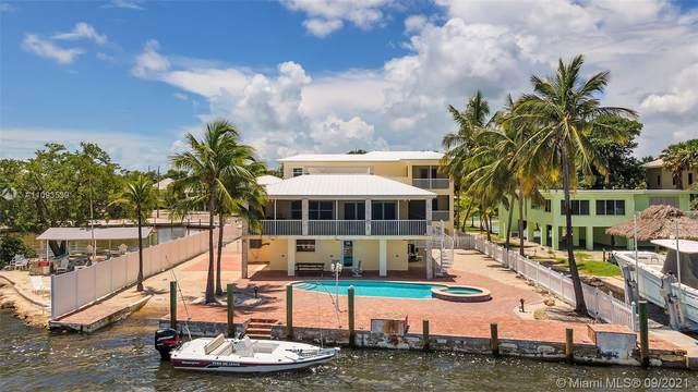 348 Sound Dr, Key Largo, FL 33037 (MLS #A11093539) :: KBiscayne Realty