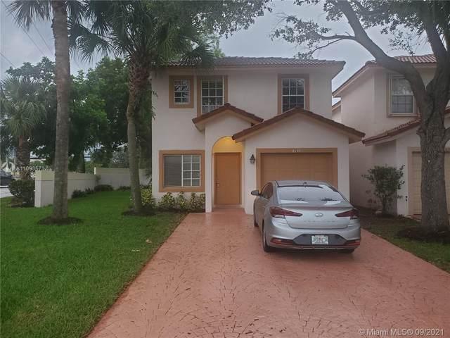 8097 NW 45th St, Coral Springs, FL 33065 (#A11093571) :: Dalton Wade