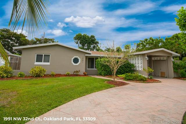 1991 NW 32nd Ct, Oakland Park, FL 33309 (MLS #A11093709) :: The Rose Harris Group