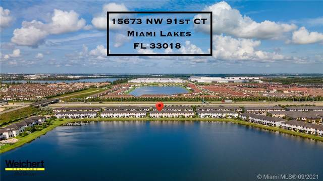 15673 NW 91st Ct #15673, Miami Lakes, FL 33018 (MLS #A11094244) :: Jo-Ann Forster Team