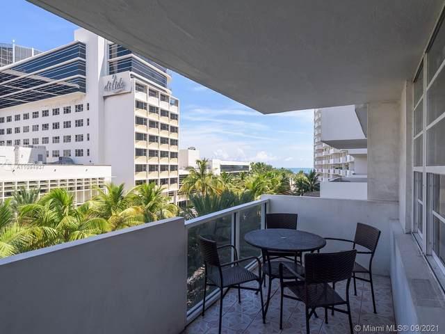 100 Lincoln Rd #410, Miami Beach, FL 33139 (MLS #A11094937) :: Berkshire Hathaway HomeServices EWM Realty
